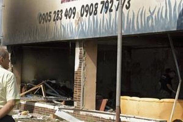 Po výbuchu v Euromonte.
