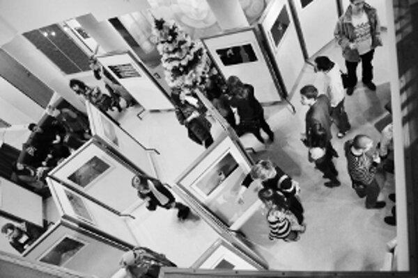 Výstava prilákala veľa návštevníkov.
