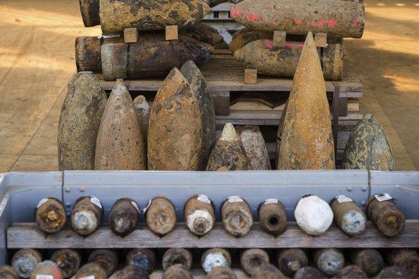 Aj po sto rokoch nachádzajú Belgičania v zemi bomby z prvej svetovej vojny. V niektorých mohla byť smrteľná chémia.