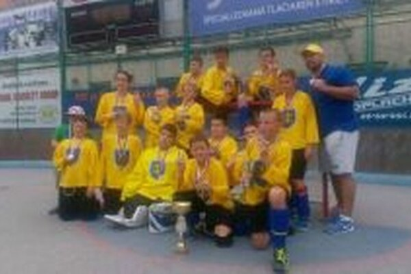 Hokejbalisti - kategória U12.