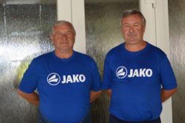 Zľava: Miloš Urda aGejzko Golešényi.
