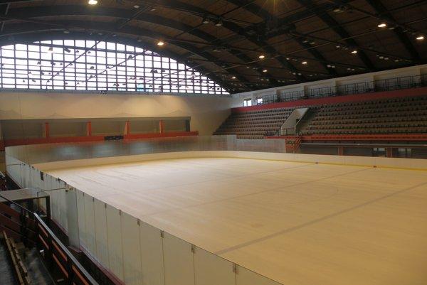 Zimný Štadión Stana Mikitu v Ružomberku.