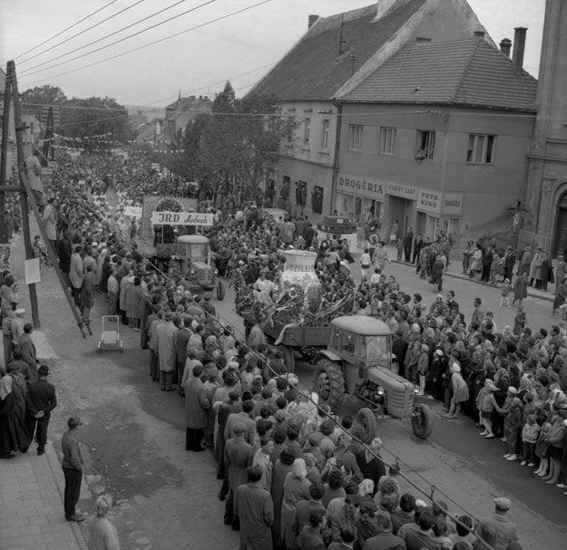 Vinobranie v Modre v roku 1962