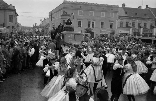Pezinok v roku 1959