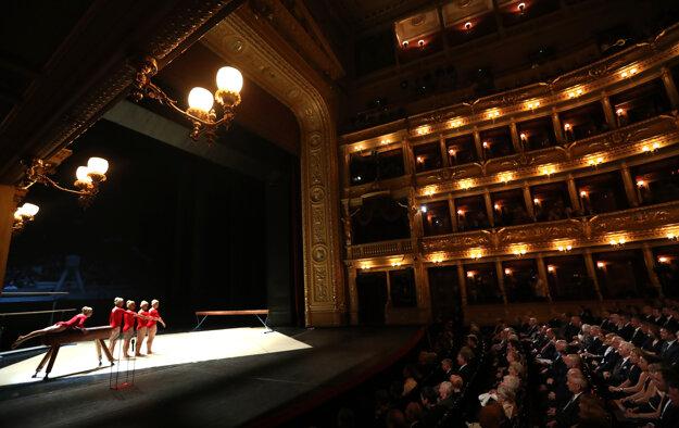 Osobnosti sa v pražskom Národnom divadle rozlúčili s Čáslavskou.