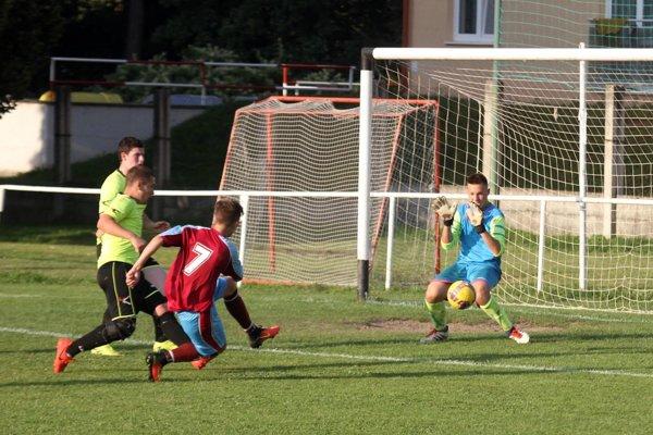 Druhý gól strelil zblízka Nikolas Pecho.