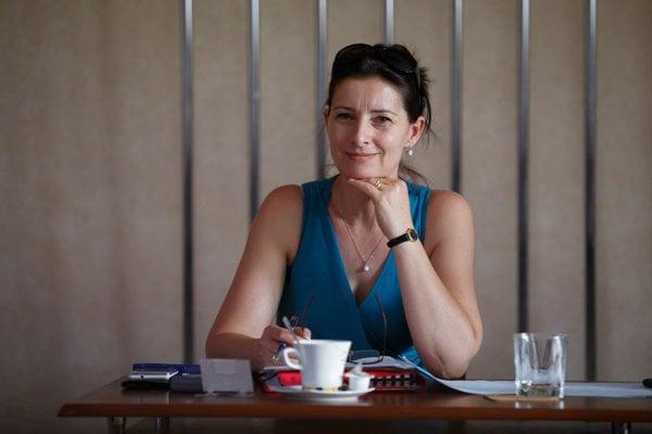 Mária Gamcová. Vicestarostka KVP.