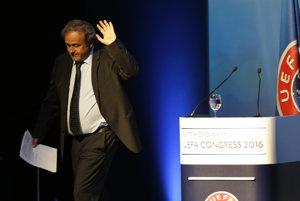 Rozlúčka Michela Platiniho.