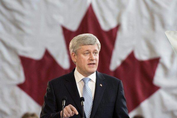Kanadský premiér Stephen Harper.