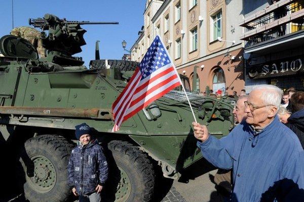 Americké tanky prejdú Pobaltím.