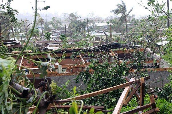 V okolí hlavného mesta vyhlásili stav núdze.