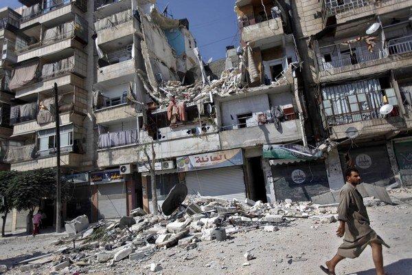 Sýria je zničená.