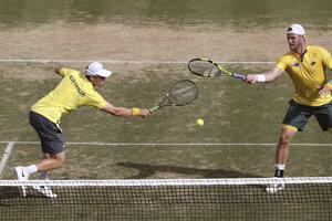 Austrálski tenisti boli úspešní a zvýšili na 3:0.