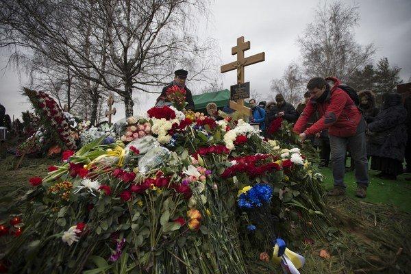 Posledná rozlúčka s Borisom Nemcovom.