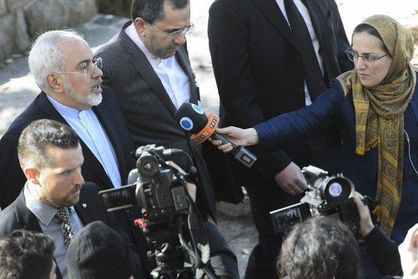 Iránsky šéf diplomacie Mohammad Džavád Zaríf.