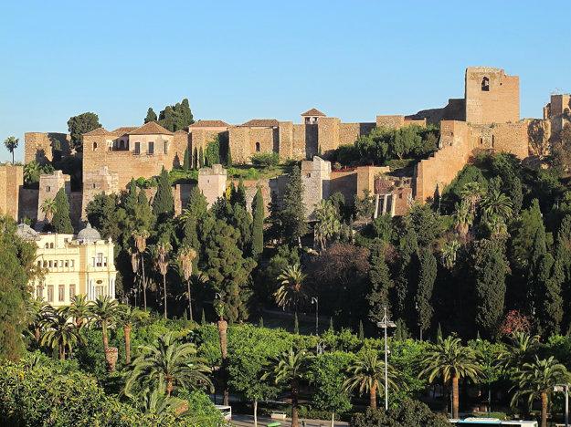 Za návštevu stojí pevnosť Alcazaba v Malage.