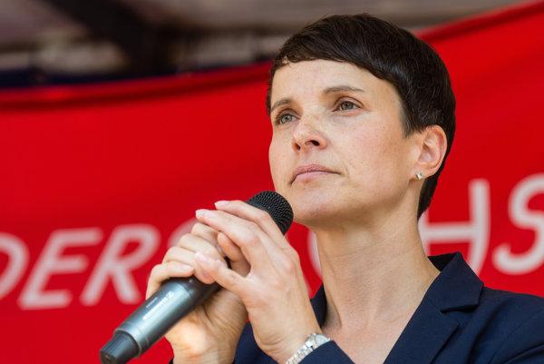 Líderka AfD Frauke Petryová.