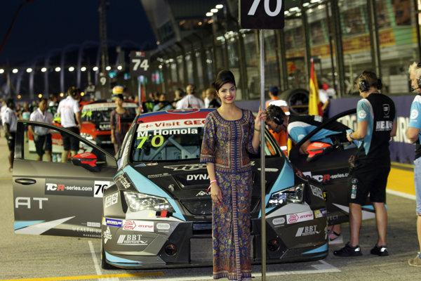 Maťo Homola je s pretekmi v Singapure spokojný.
