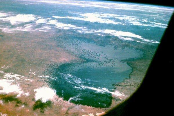 Čadské jazero.