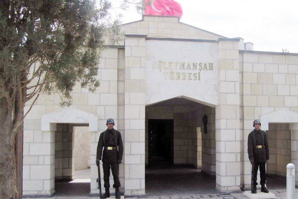 Suleymanova hrobka.