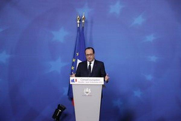 Francúzsky prezident Francois Hollande.