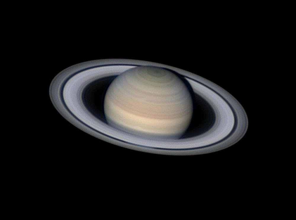 Pokojný Saturn – víťaz v kategórii Planéty, kométy a asteroidy.