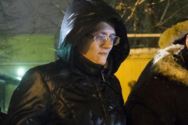 Svetlana Davydovová.