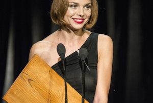 Najlepšia herečka. Tento titul si vyslúžila Petra Vajdová.