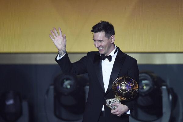 Naposledy sa zo zisku Zlatej lopty tešil Lionel Messi.