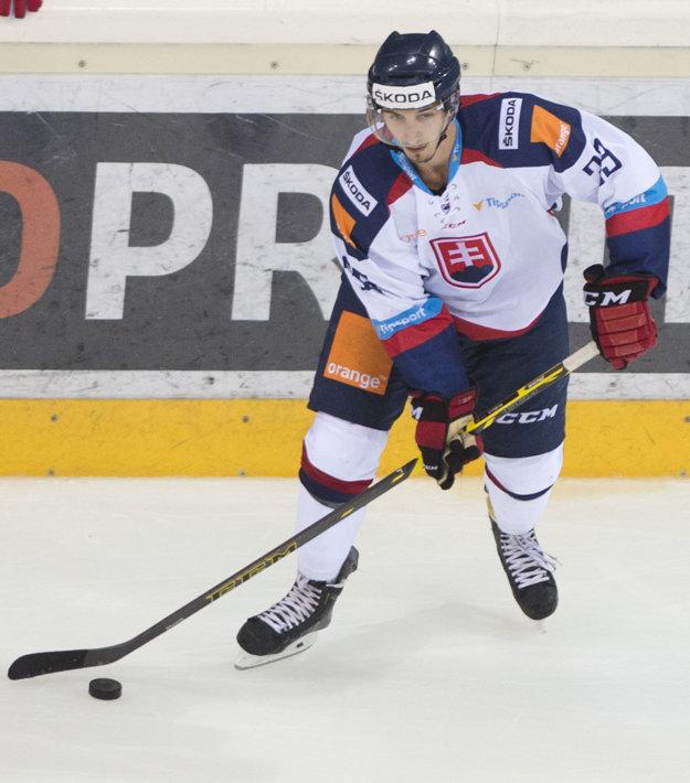 Miloš Bubela si tento rok premiérovo obliekol aj reprezentačný dres Slovenska.