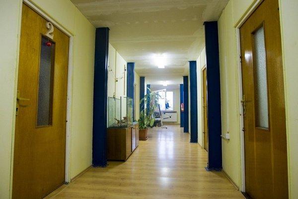 Interiér strediska Čistý deň.