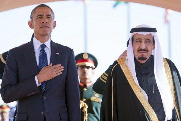 Barack Obama a kráľ Salmán.