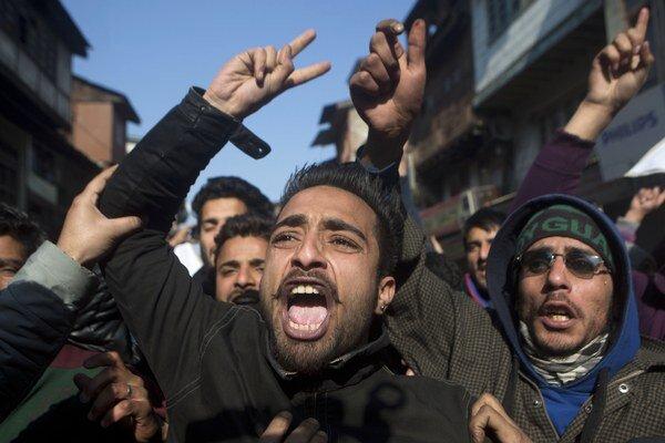 V indickom Kašmíre potlačili protesty proti karikatúre Mohameda.