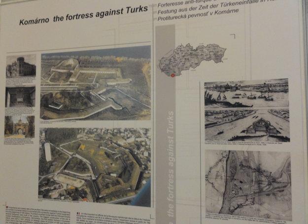 O zápis do zoznamu UNESCO sa uchádza aj Protiturecká pevnosť v Komárne.