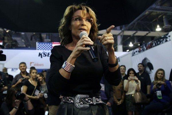 Sarah Palinová.