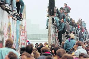 Berlínsky múr.