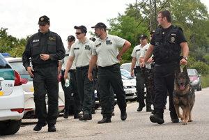 V deň úteku ho hľadali desiatky policajtov, psovodov so psami aj policajný vrtuľník.