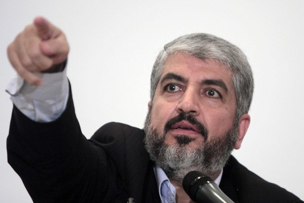 Exilový vodca palestínskeho militantného hnutia Hamas Chálid Mišál.