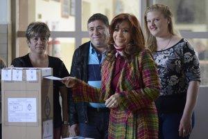 Odchádzajúca prezidentka Argentíny Cristina Fernándezová