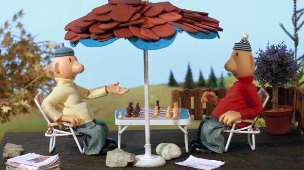 Nezdá sa to, ale Pat a Mat dokážu hrať šach.