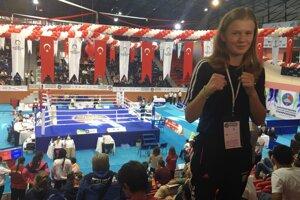 Jessica Triebeľová pred finálovým duelom majstrovstiev.