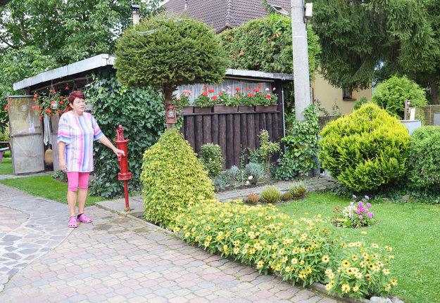 Najkrajšou záhradou sa tento rok môže pochváliť Helena Švábiková.