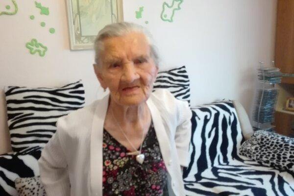 Mária Bahledová oslávila 104 rokov