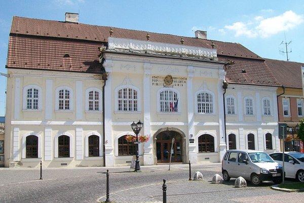 Knižnica Mateja Hrebendu v Rimavskej Sobote.
