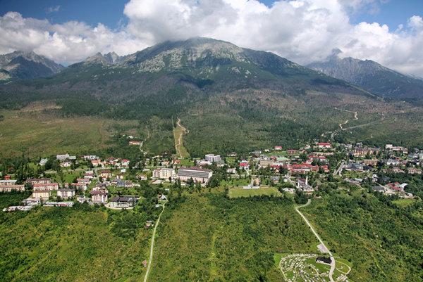 Mesto Vysoké Tatry.