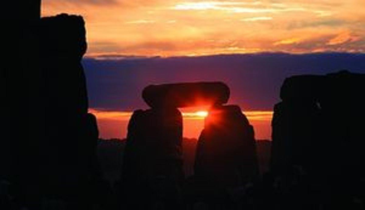 východ slnka datovania