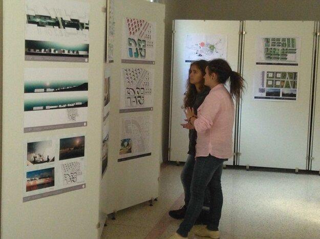 Výstava v synagóge.