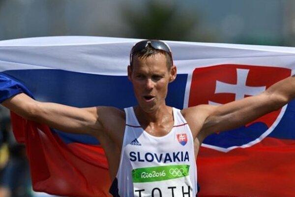 Matej Tóth momentálne nemá na Slovesnku konkurenciu.