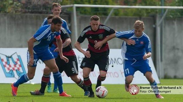 Švajlen v súboji s Nemeckom.