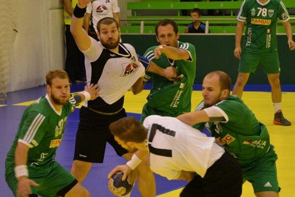 Štart (v zelenom)v Topoľčanoch nenadviazal na predchádzajúce výkony a jasne prehral.